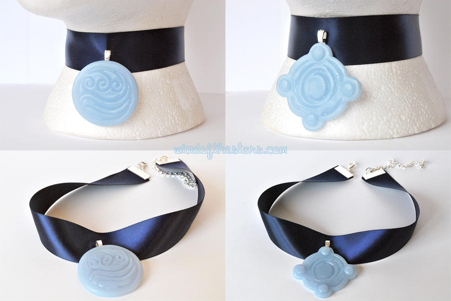 water tribe betrothal necklace by windofthestars on deviantart