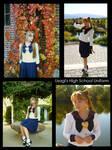 Usagi's High School Uniform