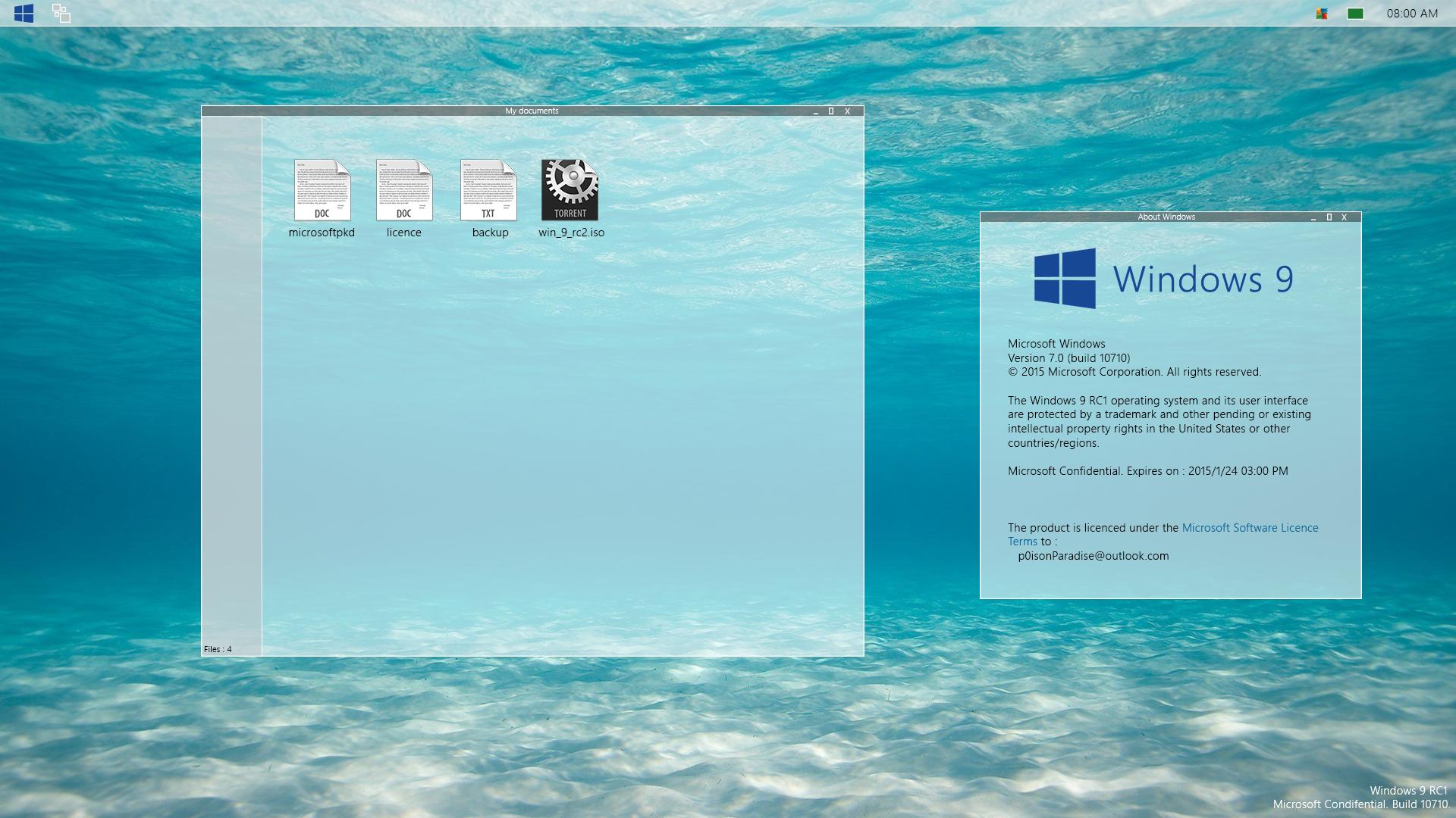 [Design] Windows 9 RC1