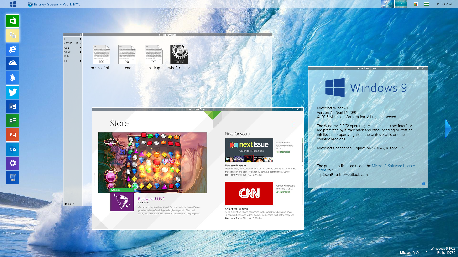 [Design] Windows 9 RC2 by p0isonParadise