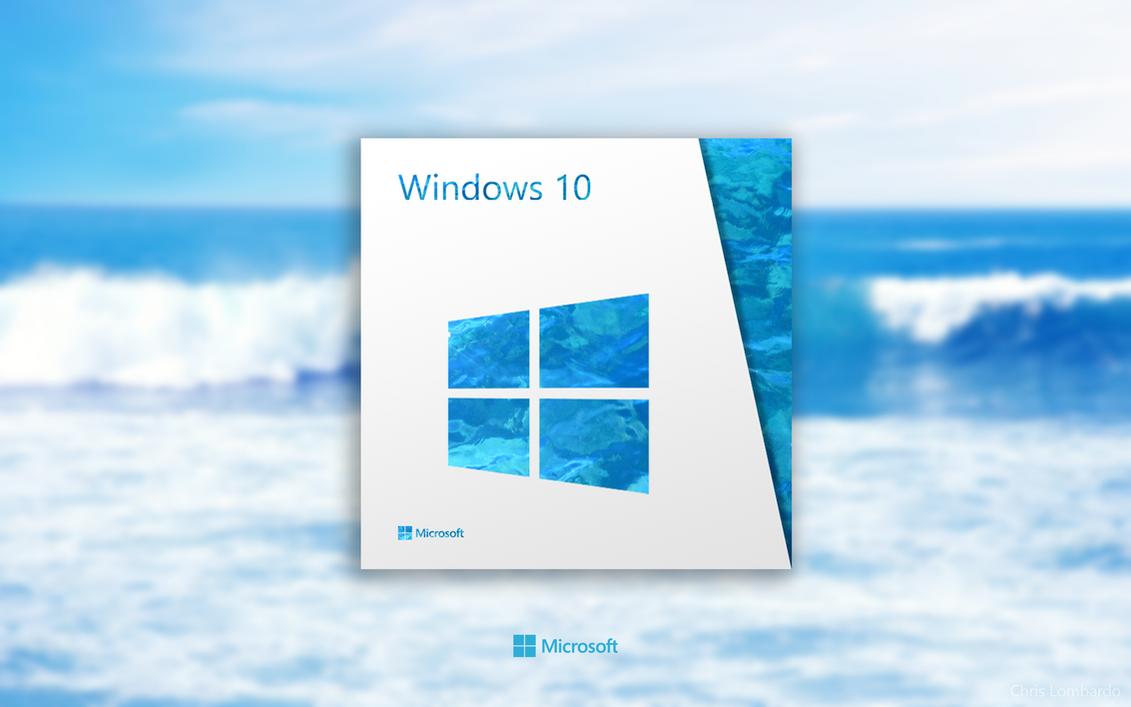 [Design] Windows 10 Retail Box by p0isonParadise on DeviantArt