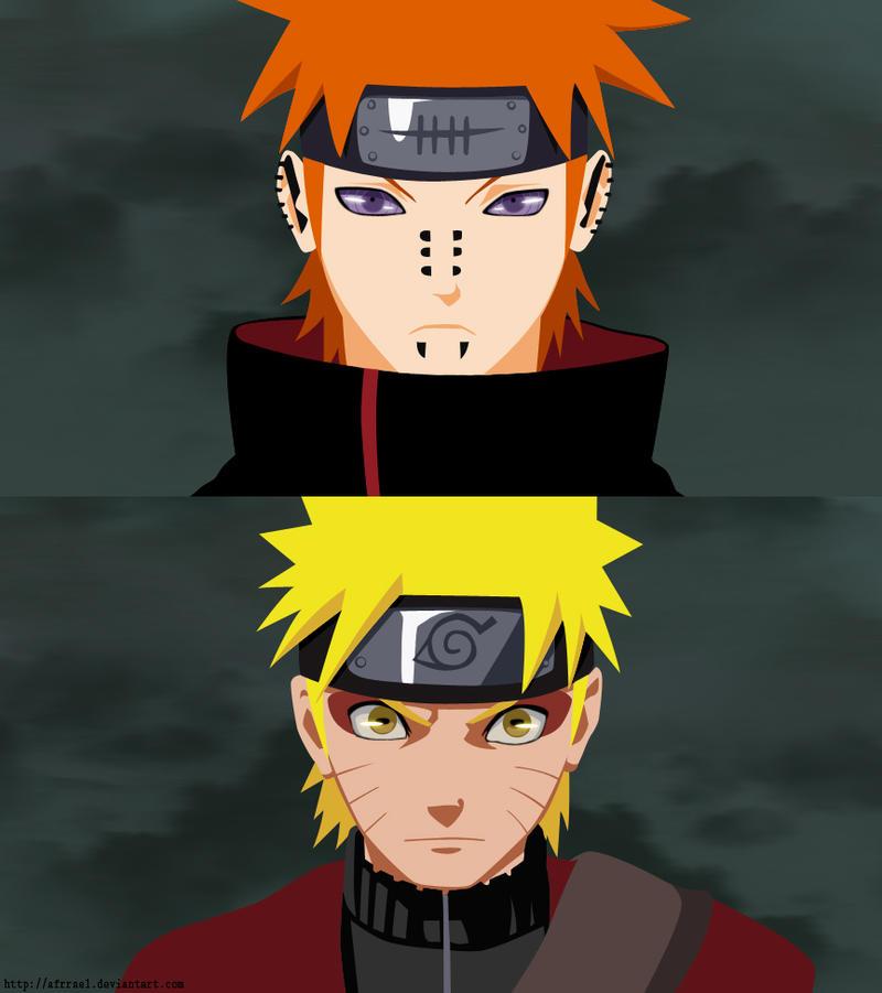 Pain Naruto Wallpaper: Naruto Vs Pain By Afrrael On DeviantArt