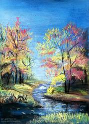 Pastel autumn by Ametist-nyako