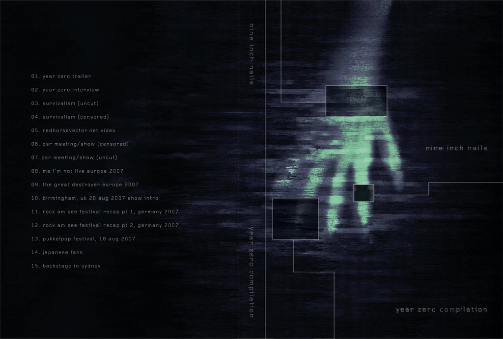 NIN Year Zero Compilation DVD by wizfrikiman on DeviantArt