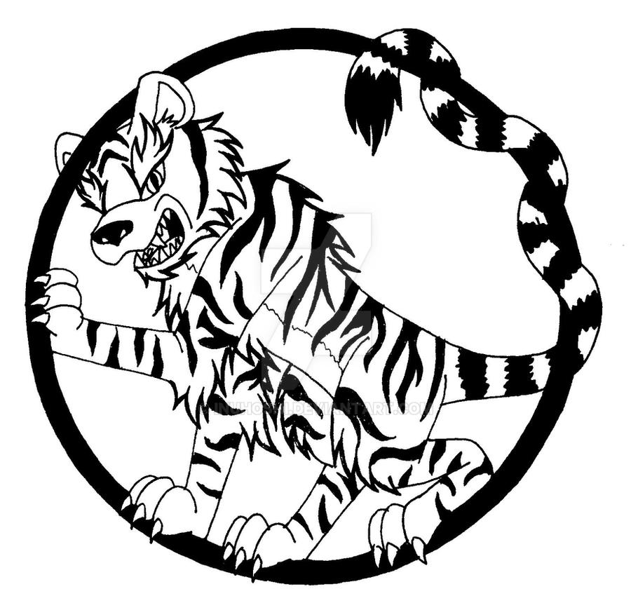 Tiger Symbol By Inuhoshi On Deviantart