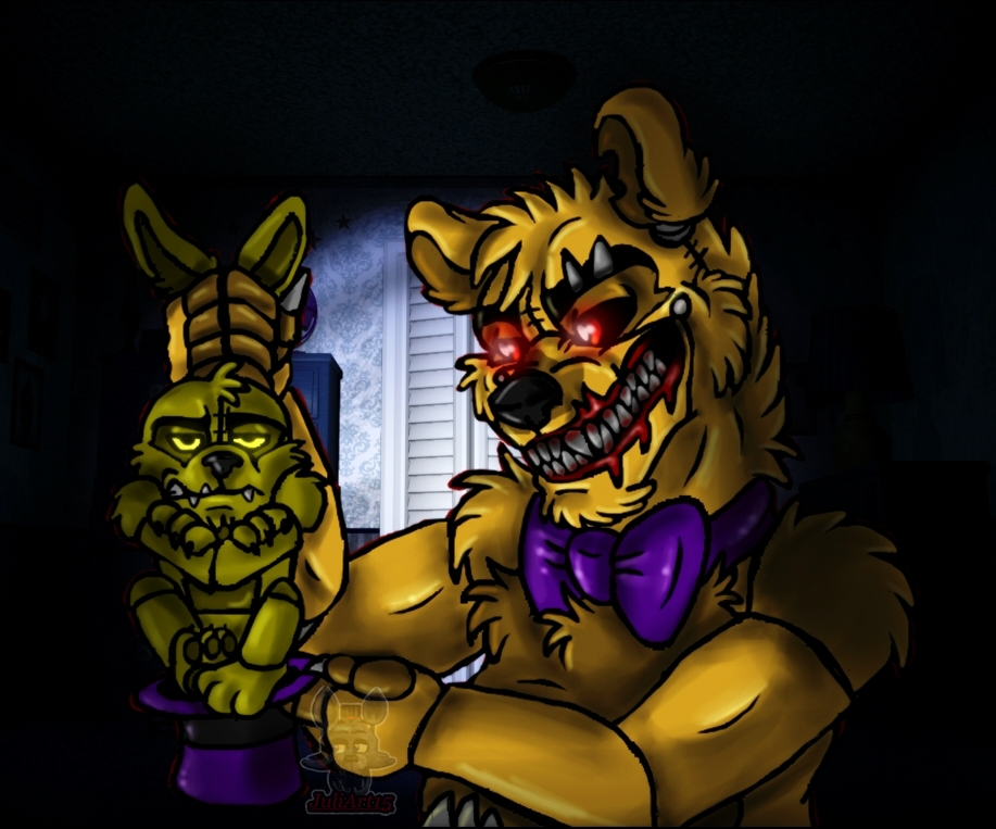 The Fredbear magician :0 by JuliArt15