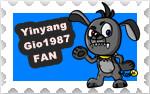 YinyangGio1987  Stamp by JuliArt15