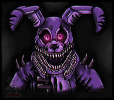.: Twisted Bonnie:.  by JuliArt15