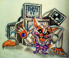 .:Funtime Lolbit- Tv:. by JuliArt15