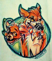 .:Nightmare Foxy:. by JuliArt15