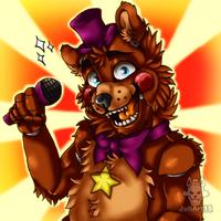 .:Rockstar Freddy:. by JuliArt15
