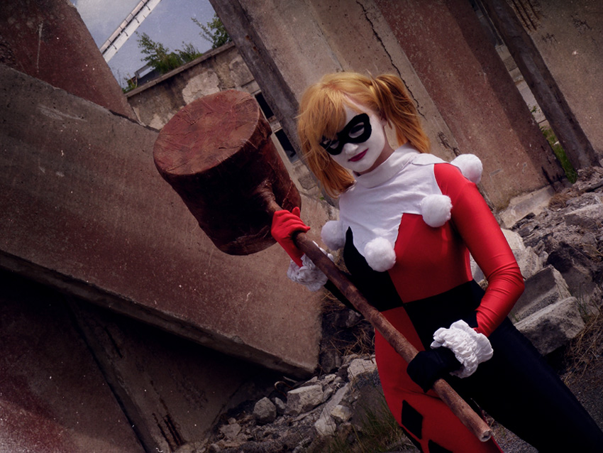 Harley Quinn by mockingbee