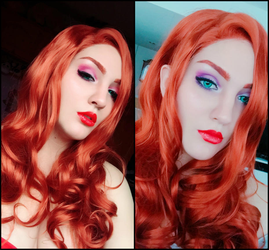 Jessica Rabbit (Makeup Test) by UmiJenova