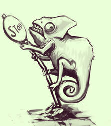 Calmeleon by Tengus-Nose