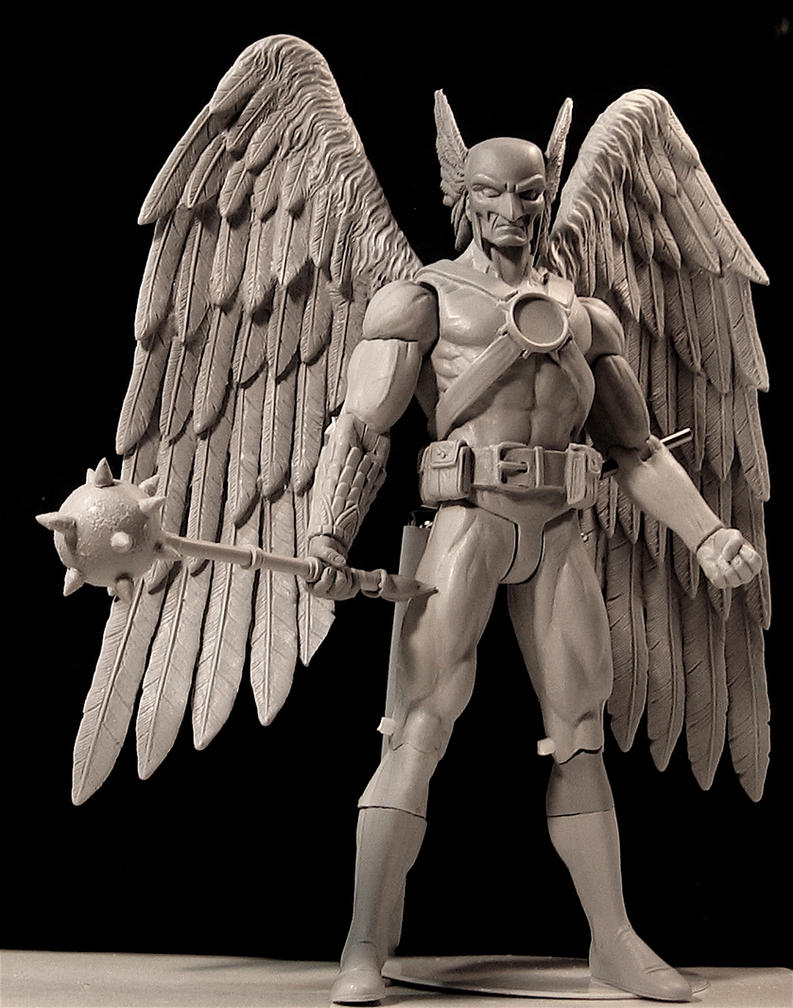 Hawkman, brightest day by LocascioDesigns