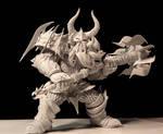 Warcraft, Dwarf Warrior