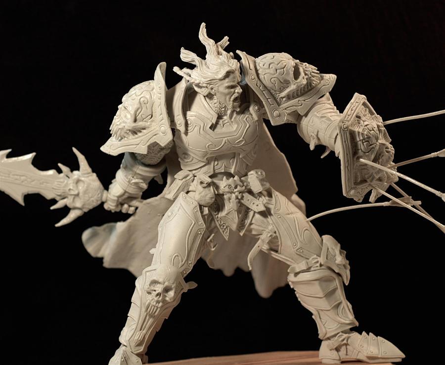Warcraft, Human warrior by LocascioDesigns