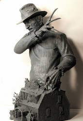 Freddy Krueger bust by LocascioDesigns