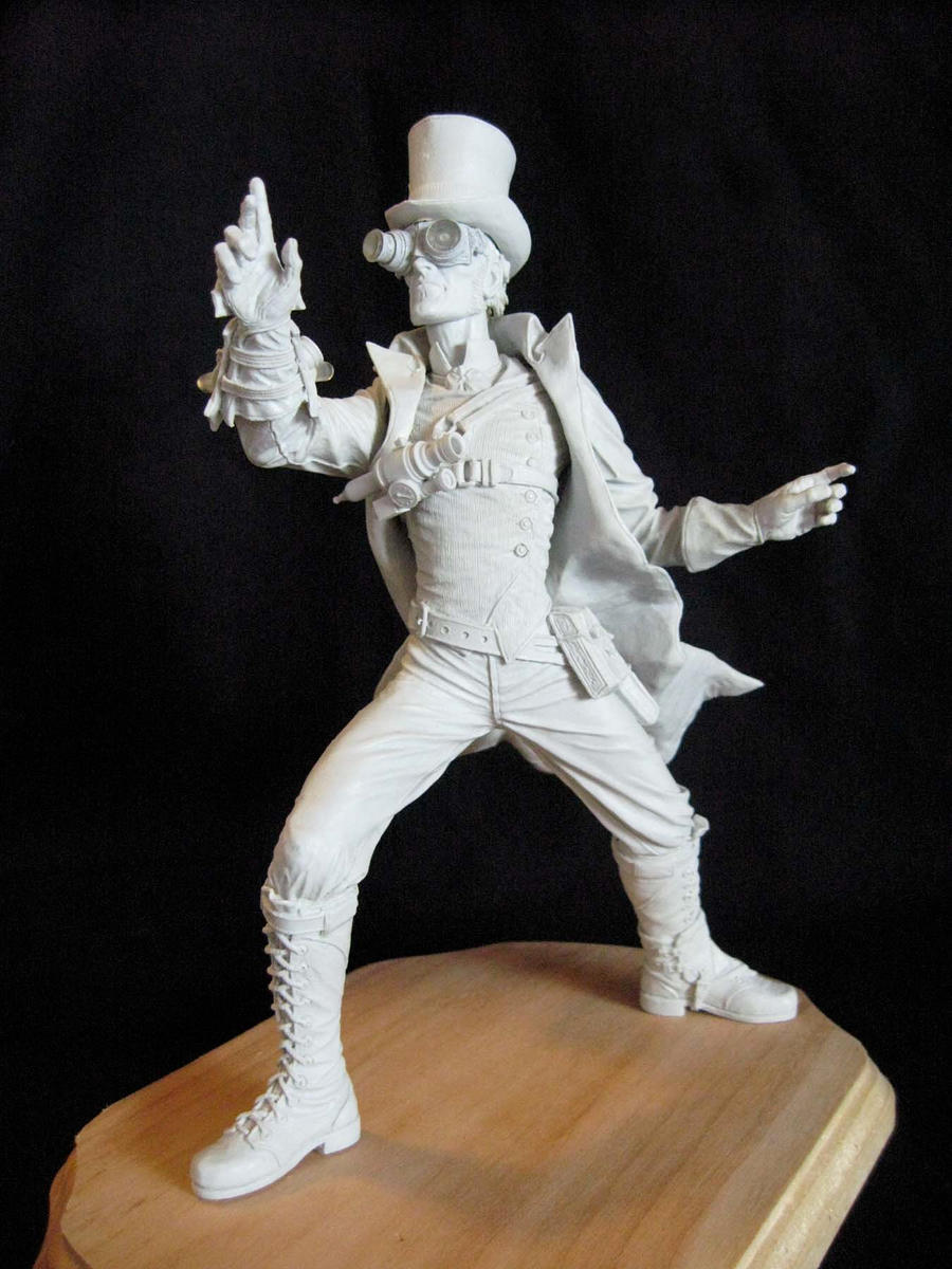 Steampunk figure, 5