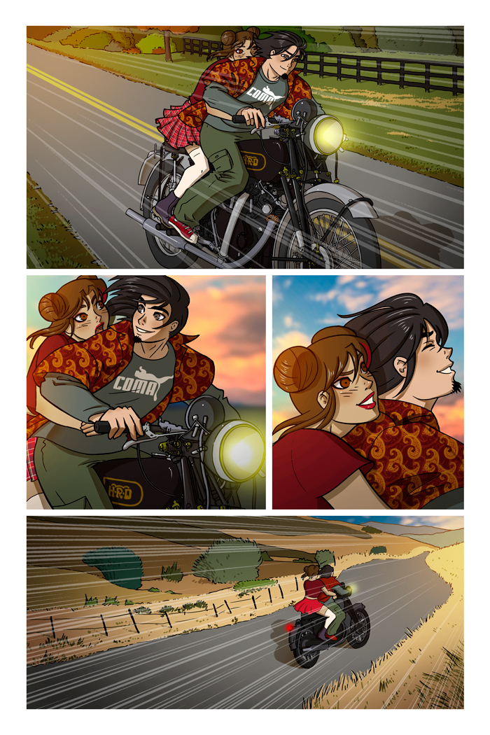 WAX comic, Issue 2 Page 15 by ClaudiaCangini