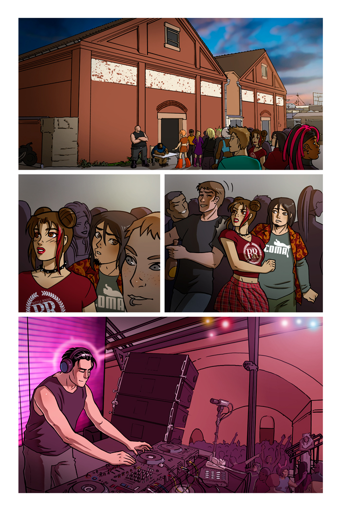 WAX comic, Issue 2 Page 17 by ClaudiaCangini