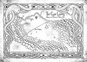 The Watch - RPG Interior illustration: Map