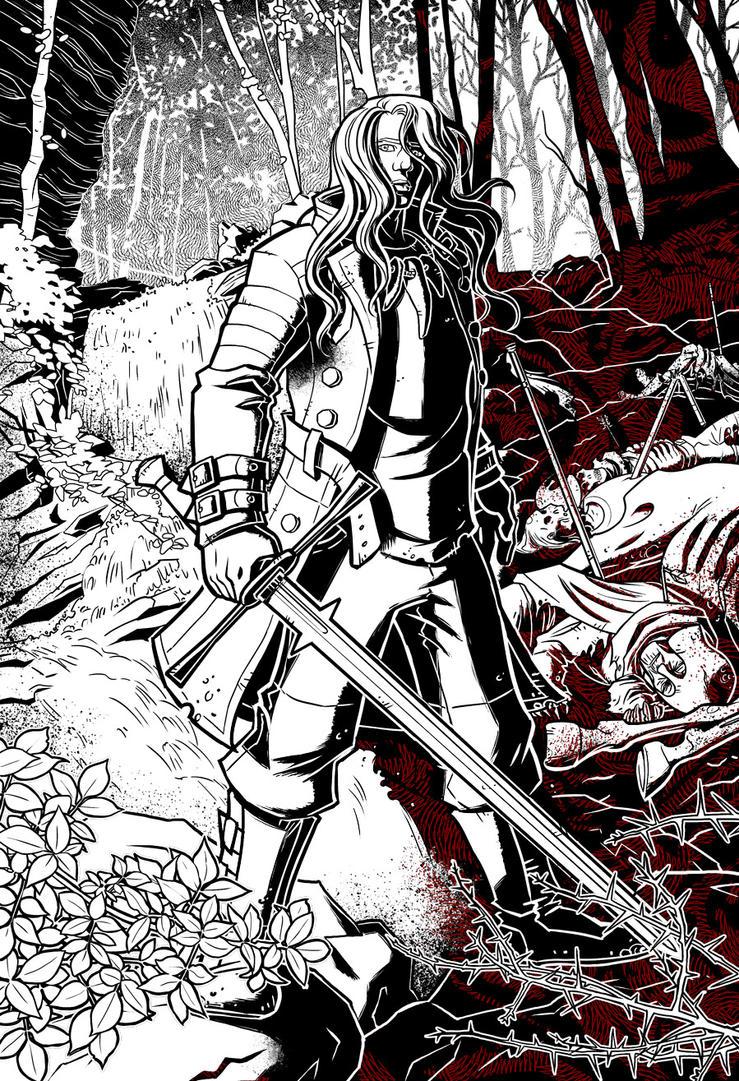 Katanas e Trenchcoats - Archon 1 by ClaudiaCangini