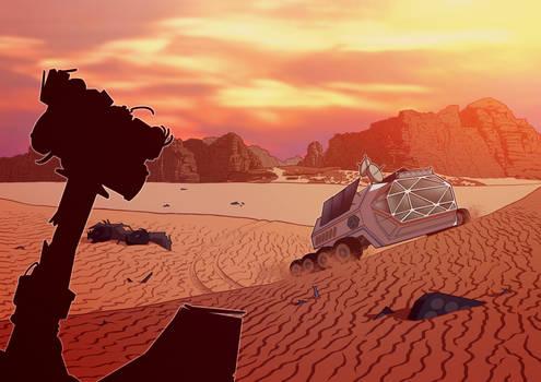 MarsToStay2021 - Rover in the Billion Dollar Deser