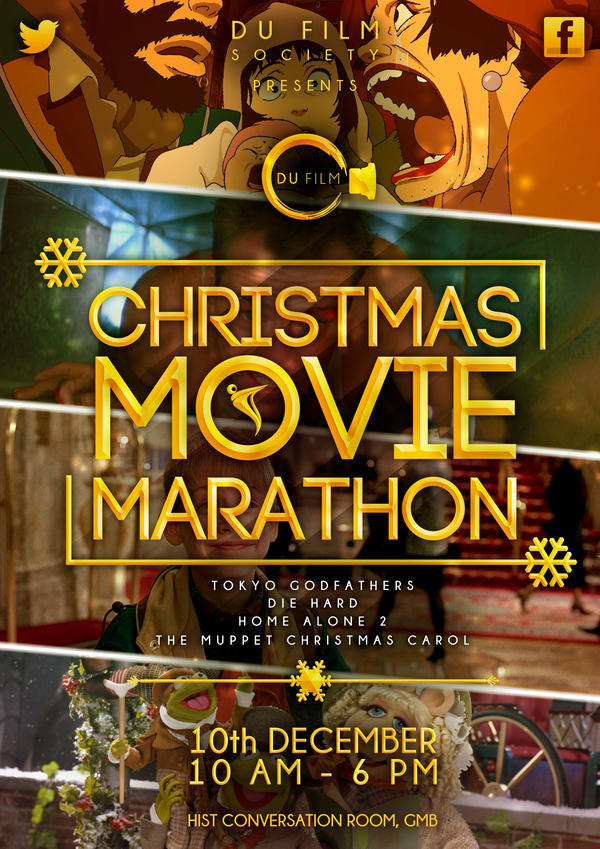 Christmas Movie Marathon Poster by canyonlord on DeviantArt
