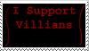 Stamp-I Support Villians by invaderkilaneka