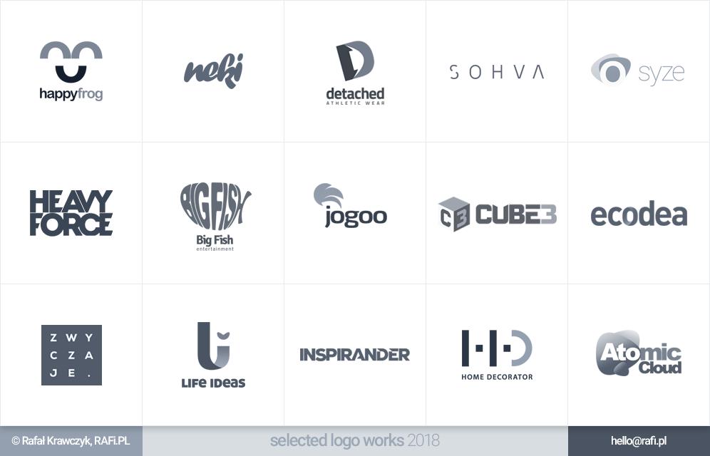 Logofolio - selected logo works 2018 by RAFi-PL