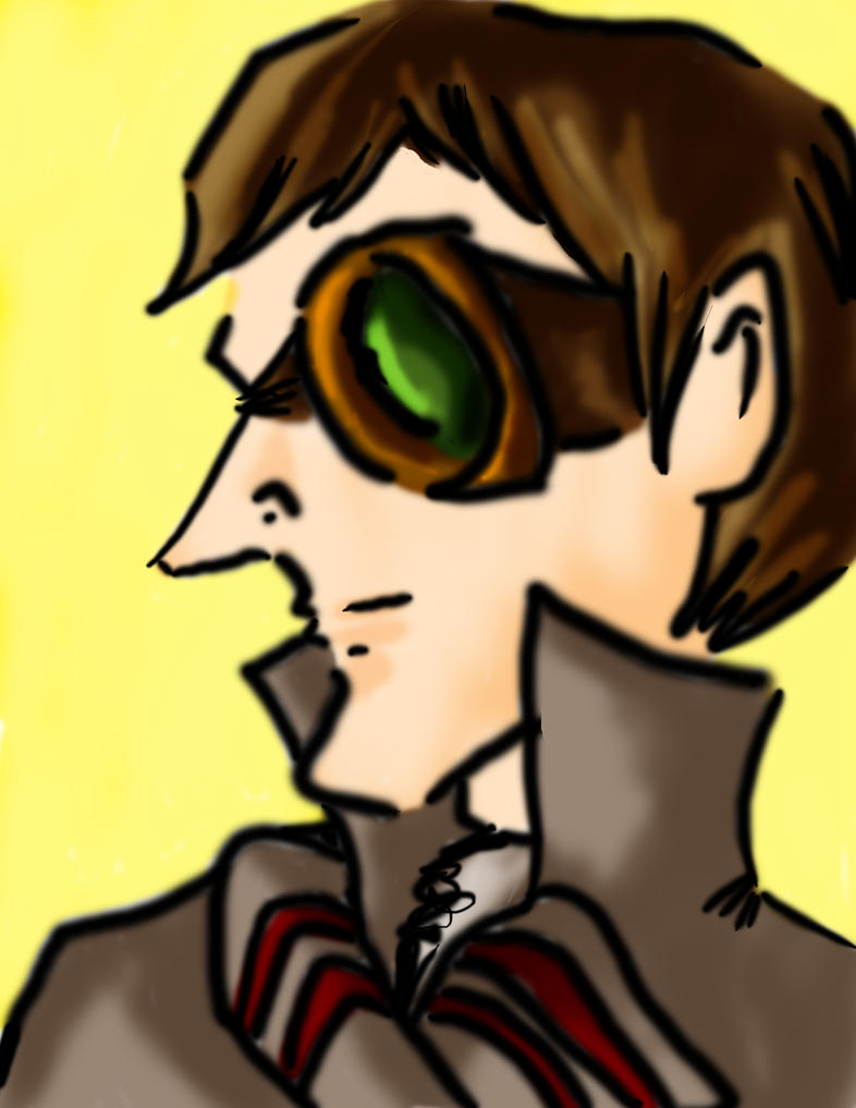 Steampunk Professor D by Aneirin-Aryon