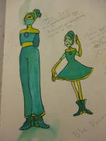 Emerald and Olivine Pearl by wrathberries