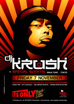 DJ Krush At It's Only