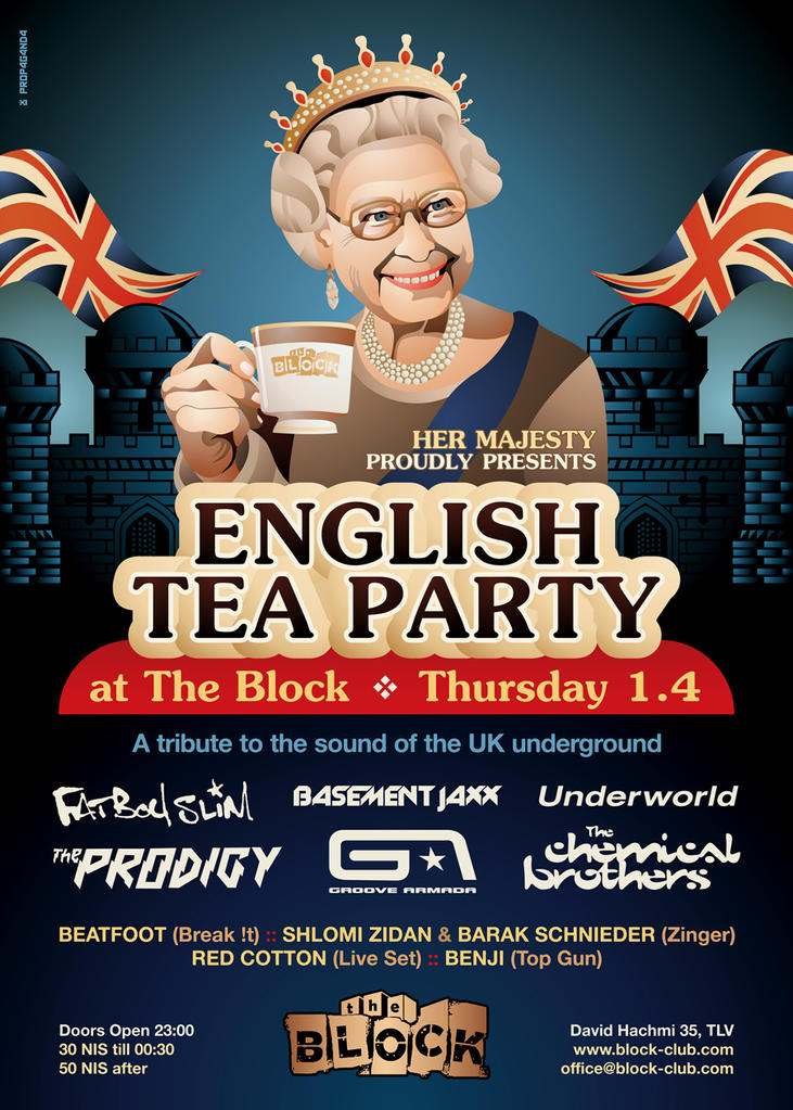 English Tea Party by prop4g4nd4