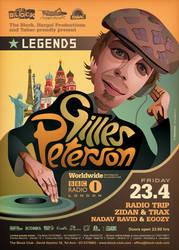 Legends: Gilles Peterson