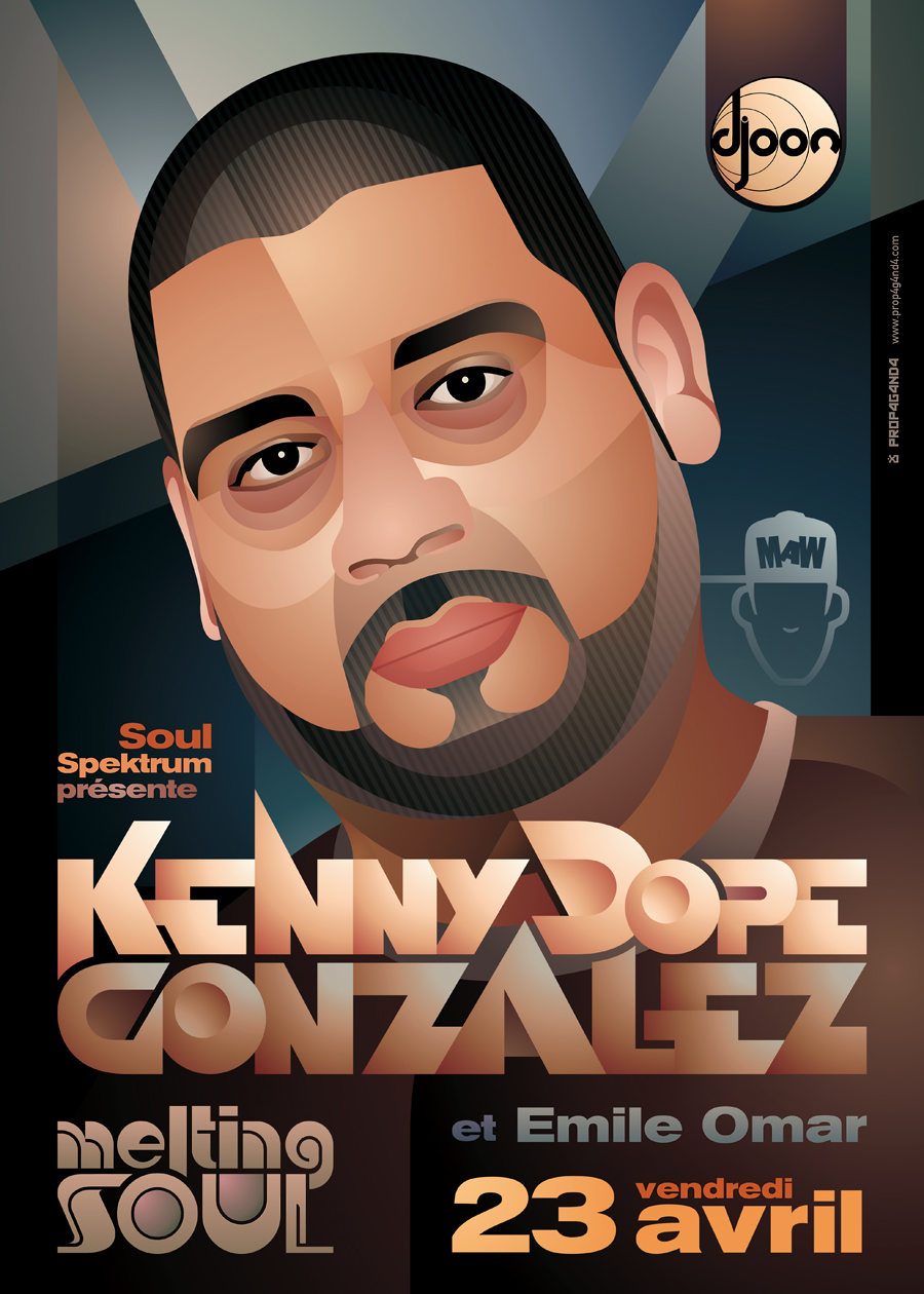 Melting Soul: Kenny Dope by prop4g4nd4