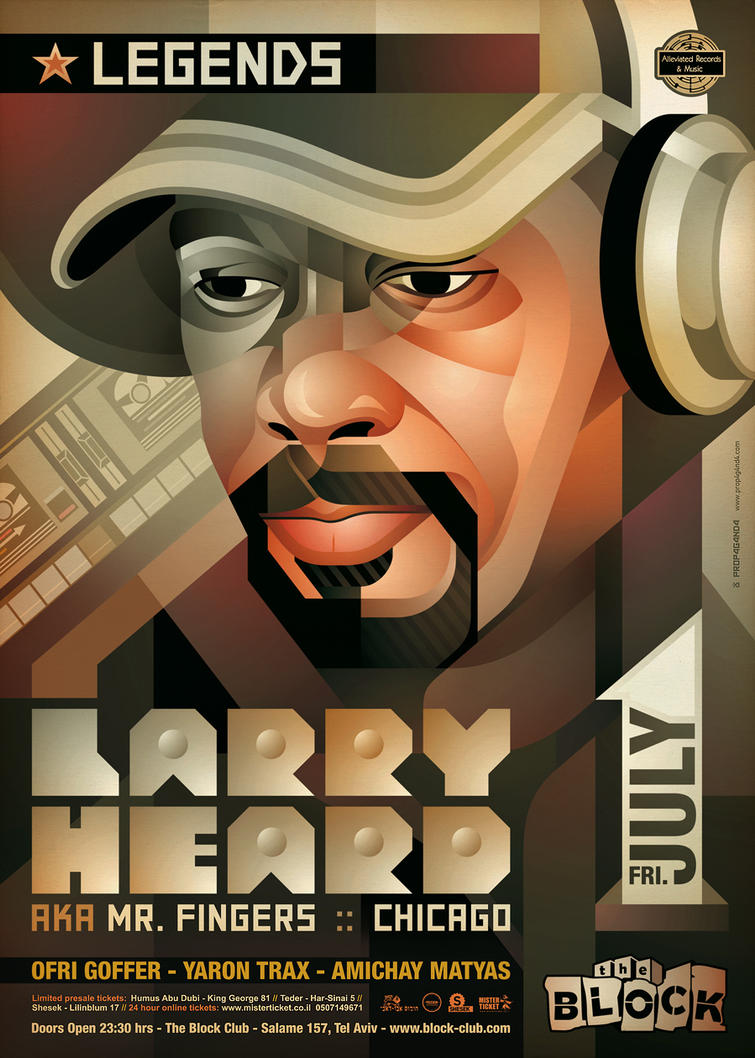 Legends: Larry Heard by prop4g4nd4