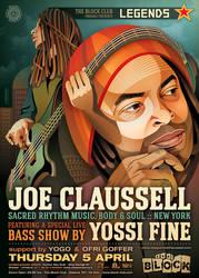 Legends: Joe Claussell + Yossi Fine