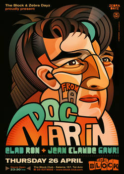 Doc Martin at The Block