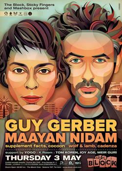 Guy Gerber + Maayan Nidam at The Block