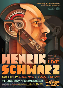 Henrik Schwarz at The Block