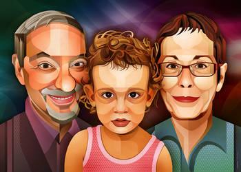 Yariv, Ella and Dalia