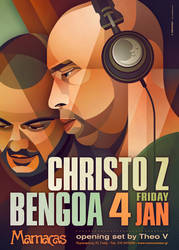 Christo Z + Bengoa At Mamacas