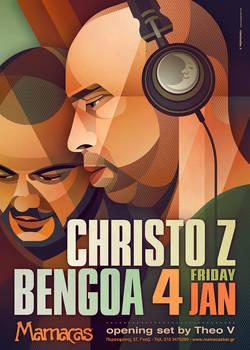 Christo Z + Bengoa At Mamacas