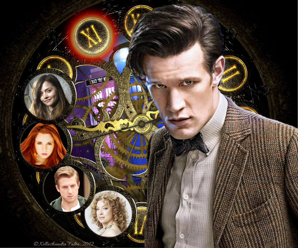 the eleventh doctor by killashandrafalta on deviantart