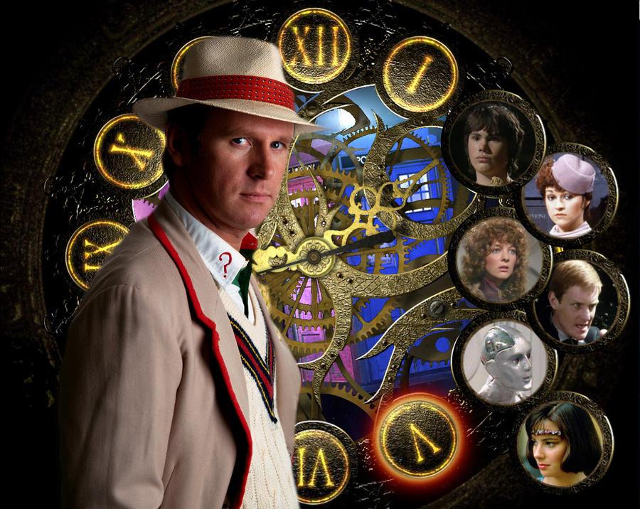 The Fifth Doctor by killashandra-falta