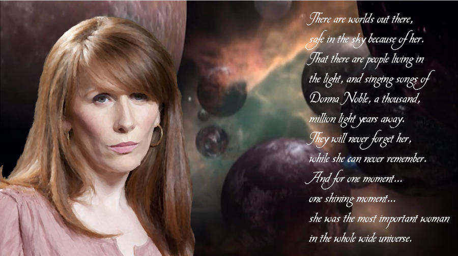 Donna Noble, Catherine Tate