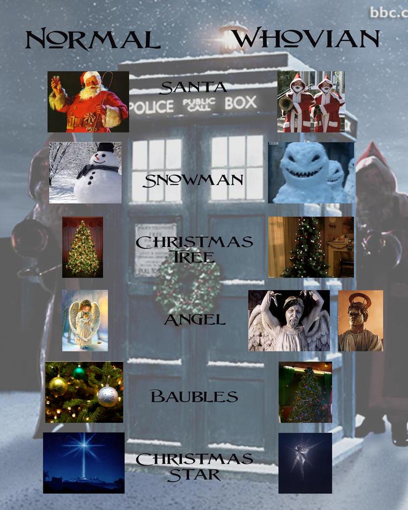 Doctor Who and Christmas Tradition by killashandra-falta