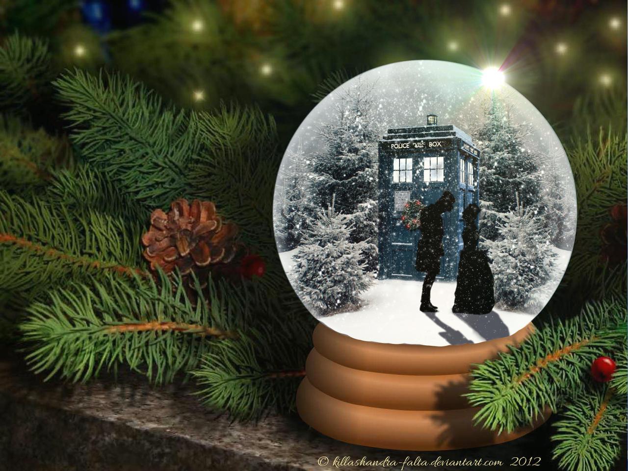 Doctor Who Snow Globe 2012 By Killashandra Falta On